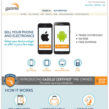 Gazelle – reCommerce