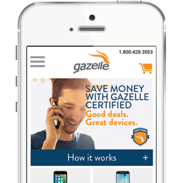Gazelle – eCommerce mobile
